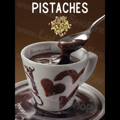 Chocolat chaud italien Saveur : PISTACHES