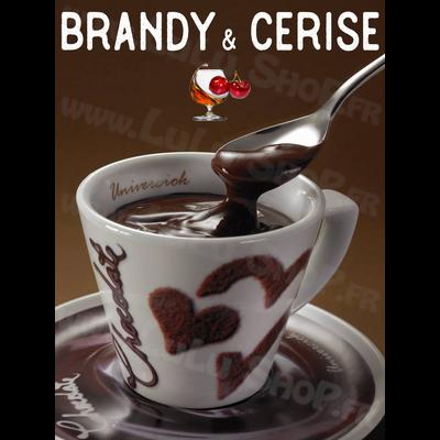 Chocolat chaud italien Saveur : BRANDY & CERISE