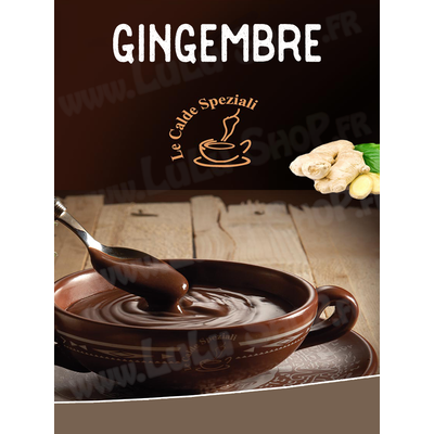 Chocolat chaud italien Saveur : GINGEMBRE