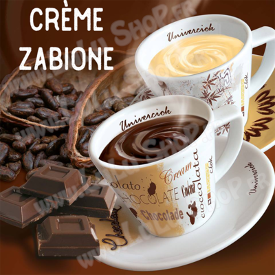 Chocolat chaud italien Saveur : CRÈME ZABAIONE