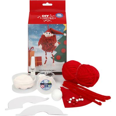 Kits Créatifs Noël : Lutin du Père Noël
