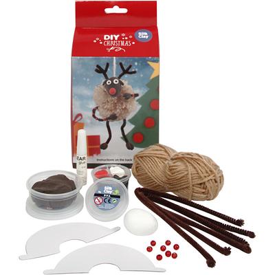 Kits Créatifs Noël : Renne du Père Noël
