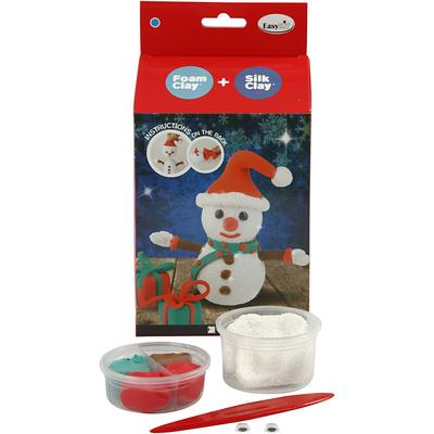Kits Créatifs Noël : Bonhomme de neige