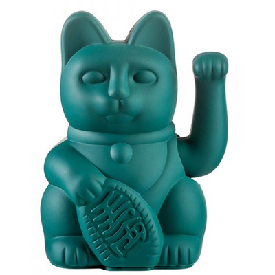 Lucky Cat - Chat Maneki Neko Vert