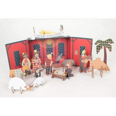 Kits Créatifs Noël : La Crèche de Noël