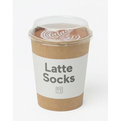 Paire de chaussettes Café latté