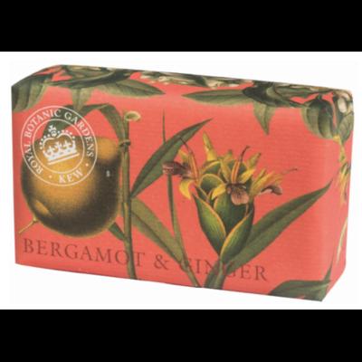 """Savon """"Jardins botaniques royaux de Kew"""" : Bergamote et gingembre"""