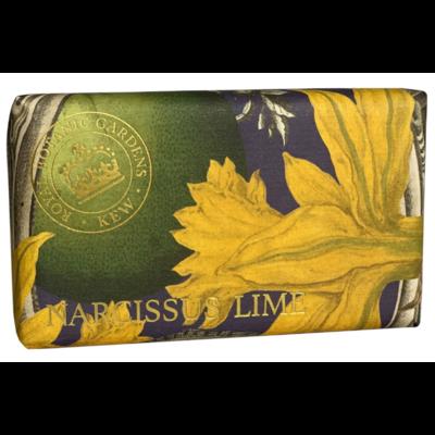"""Savon """"Jardins botaniques royaux de Kew"""" : Narcisse et citron vert"""