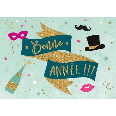 Carte Postale Bonne Année : Bonne Année !!!