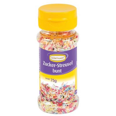 Décor en sucre : Décors à parsemer Vermicelles avec couleur