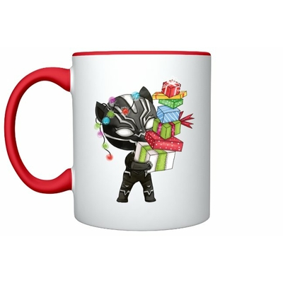 Mug Inspiration Black Panthère Noël
