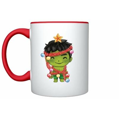 Mug Inspiration Hulk Noël