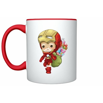 Mug Inspiration Iron Man Noël