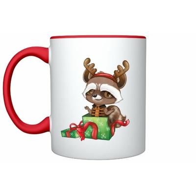 Mug Inspiration Rocket Noël