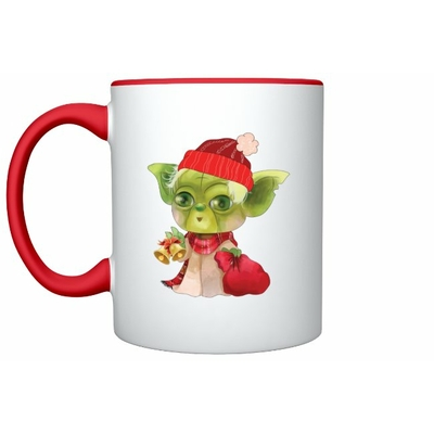 Mug Inspiration Yoda Noël
