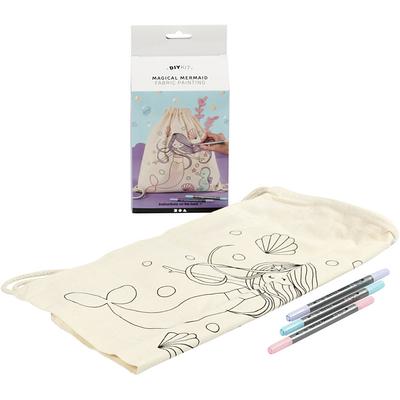 Kits créatifs Textile Sac Sirène Magique