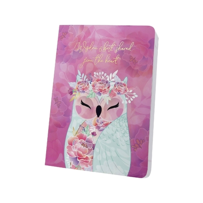 "Carnet Chouette Wise Wings ""Gentilesse"""