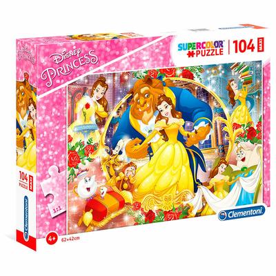 Puzzle Disney Clementoni Belle & la Bête 104 pièces