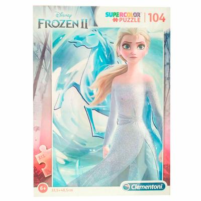 Puzzle Disney Clementoni La Reine des Neiges 2 - 104 pièces