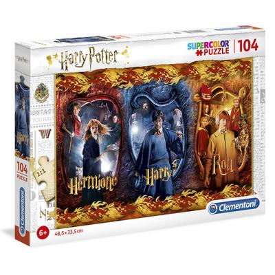 Puzzle Harry Potter Clementoni Harry, Ron & Hermione 104 pièces