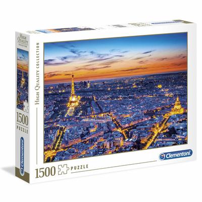 Puzzle Clementoni Collection Haute Qualité Paris 1500 pièces