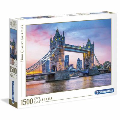 Puzzle Clementoni Collection Haute Qualité Tower Bridge Sunset 1500 pièces