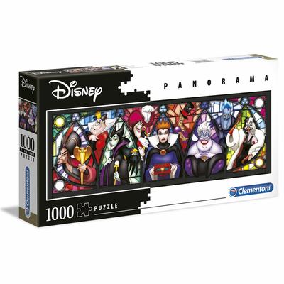 Puzzle Clementoni Disney Panorama des méchants 1000 pièces