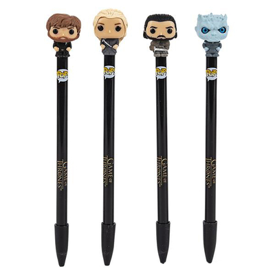 "Stylos Game of Thrones Funko POP! stylos à bille avec embouts ""Game of Thrones"""