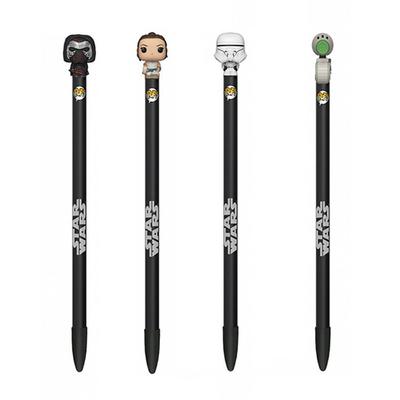 """Stylos Star Wars Episode IX Funko POP! stylos à bille avec embouts """"Star Wars"""""""