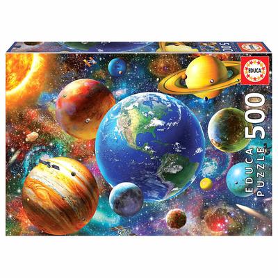 Puzzle Educa Système solaire 500 pièces