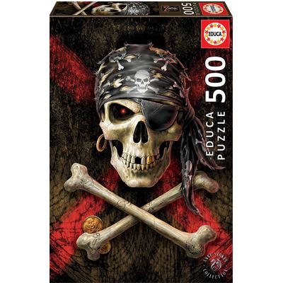 Puzzle Educa Crâne Pirate 500 pièces