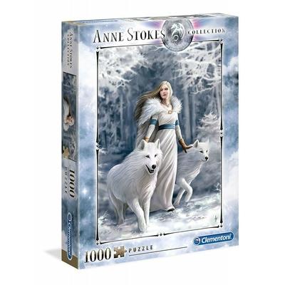 Puzzle Clementoni Anne Stokes Gardiens de l'Hiver 1000 pièces