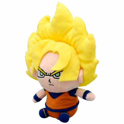 Peluche Dragon Ball Z Super Saiyan Goku 15cm