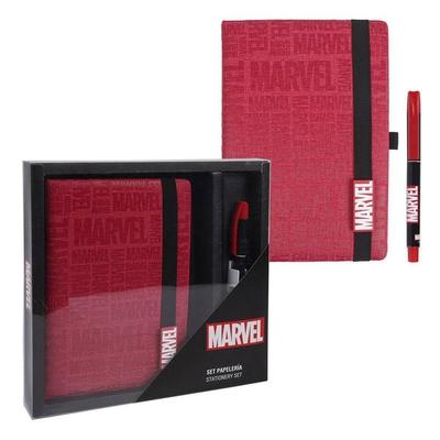 Set papeterie Marvel Logo