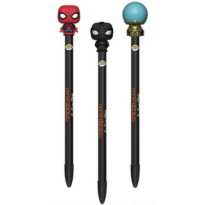 "Stylos Marvel Funko POP! stylos à bille avec embouts ""Spiderman"""