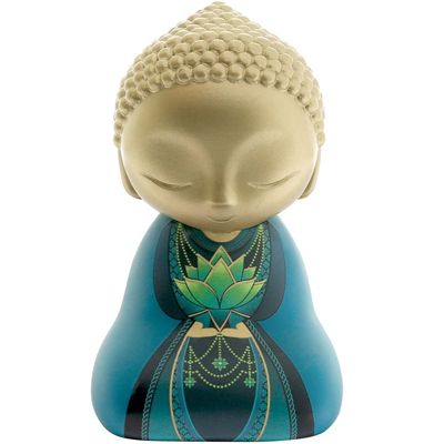 "Figurine Little Buddha ""Profite de chaque seconde"""