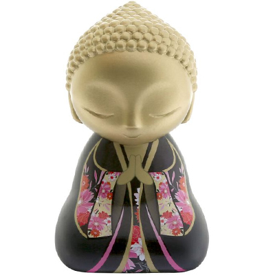 "Figurine Little Buddha ""Tu mérites amour et affection"""