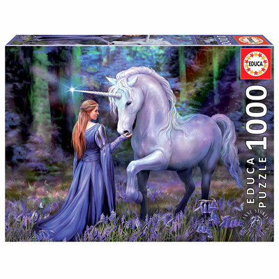 Puzzle Educa Bluebell Woods Anne Stokes 1000 pièces
