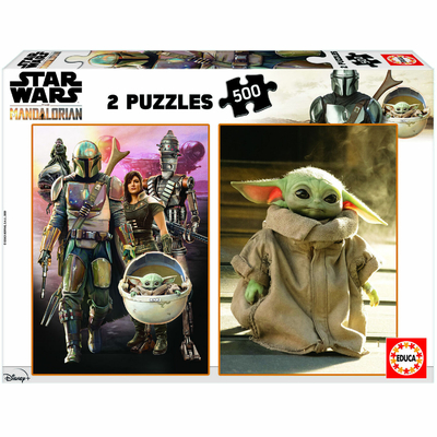 Puzzle Educa Star Wars The Mandalorian 2X500 pièces