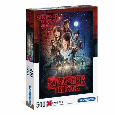 Puzzle Clementoni Stranger Things Saison 1 - 1000 pièces