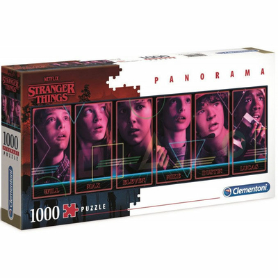 Puzzle Clementoni Panorama Stranger Things 1000 pièces