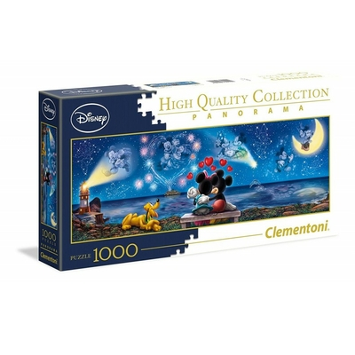 Puzzle Clementoni Panorama Mickey & Minnie 1000 pièces