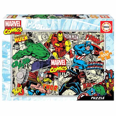 Puzzle Educa Marvel Comics 1000 pièces