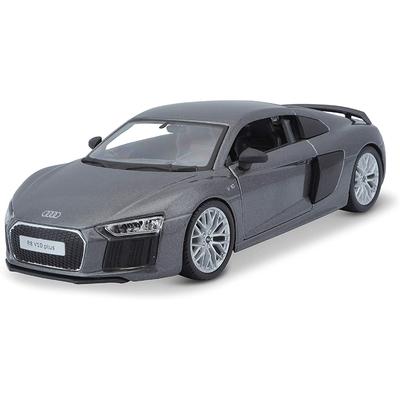 Audi R8 V10 Plus Métallique Gris Maisto 1/24