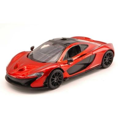 McLaren P1 Métallique Orange Foncé Carbone Motormax 1/24