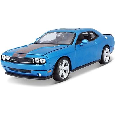 Dodge Challenger SRT8 Métallique Bleu 2008 Maisto 1/24