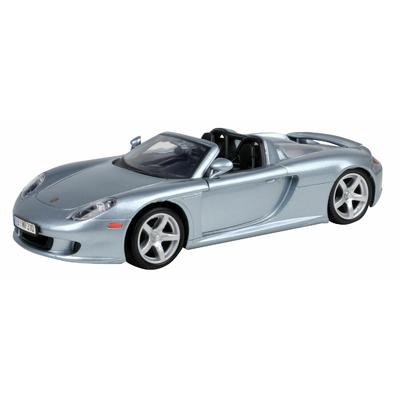 Porsche Carrera GT Métallique Bleu Clair Motormax 1/24