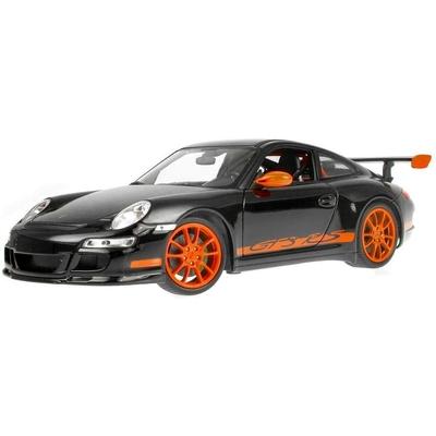 Porsche 911 (997) GT3 RS Noire/Orange Welly 1/24