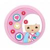 lulu Shop Miroir de Poche rose Kimmi Junior Evie