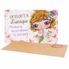 Lulu Shop VERITY ROSE Carte Cadeau Quelqu'un d'unique, Miss Cupcake